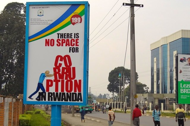 There is no space for corruption in Rwanda